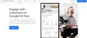 Google My Business 2021